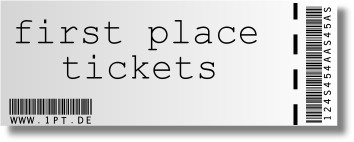 Konzerte Events. Ihr Ticket von first place tickets (1pt.de)